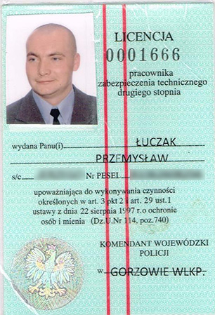 Licencja Policji